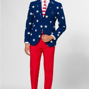 American flag suit oppo